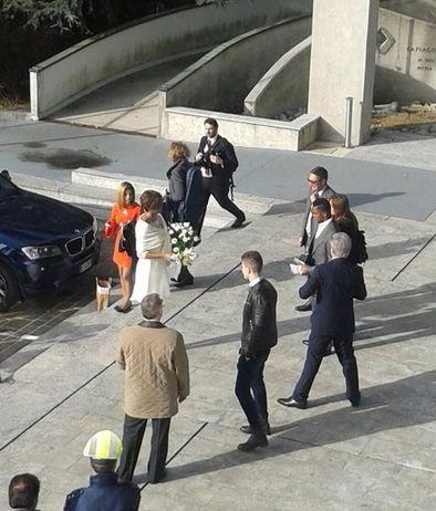 Everton's Samuel Eto'o marries Georgette in a private civil Ceremony in Lombardi