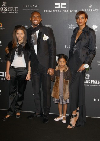 Ivorian born Georgette has two daugters with Cameroon's skiper Samuel Eto'o
